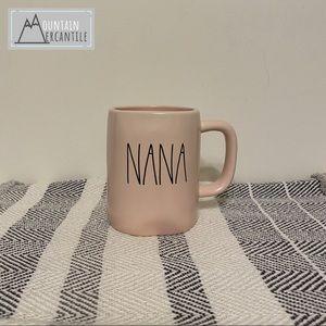 Rae Dunn Other - NEW Rae Dunn NANA coffee mug (pink)!
